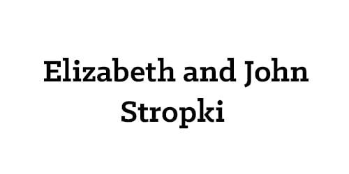 Elizabeth and John Stropki