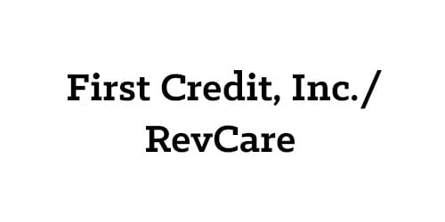 First Credit, Inc./RevCare