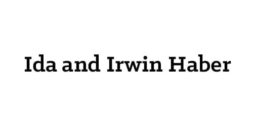 Ida and Irwin Haber