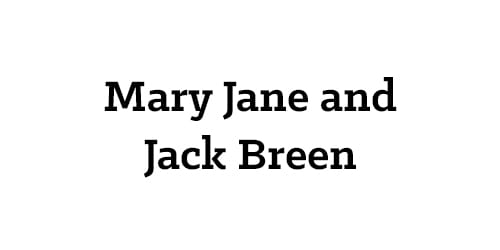Mary Jane & Jack Breen