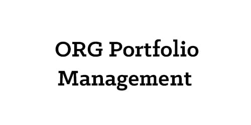 ORG Portfolio Management