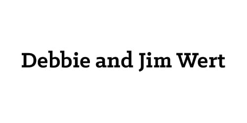 Debbie and Jim Wert