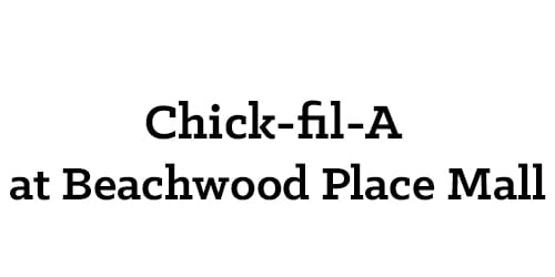Chick-fil-A at Beachwood Place Mall