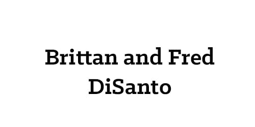 Brittan and Fred DiSanto
