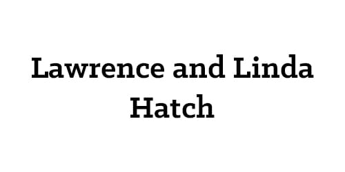 Lawrence and Linda Hatch
