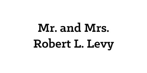 Mr. and Mrs. Robert L. Levy