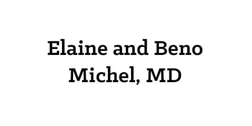Elaine and Beno Michel, MD