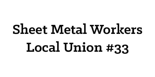 Sheet Metal Workers Local Union #33