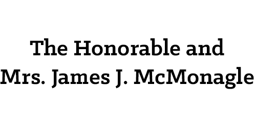 The Honorable and Mrs. James J. McMonagle